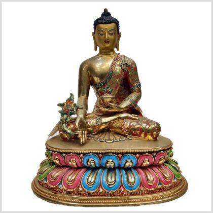 Medizinbuddha auf Podest