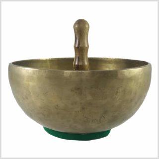 650 Gramm bunt Medium Om Tibet Klangschale Kopfschale Meditation Therapie ca