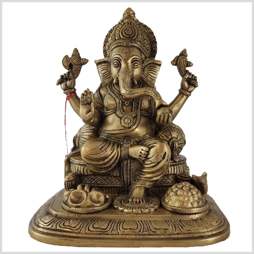 Kleiner sitzender Ganesh