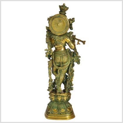 Krishna Messing 16kg Limettengrün hinten