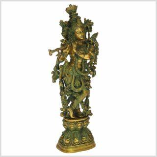 Krishna Messing 16kg Limettengrün Seitenansicht