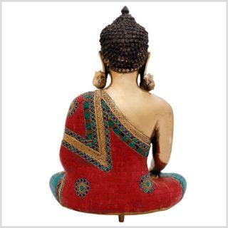 Bhumisparsa Mudra Buddha Steinarbeiten 13kg 51cm 2