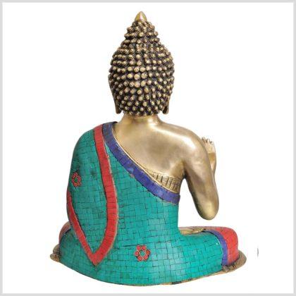 Lehrender Buddha 10,6kg Rücken