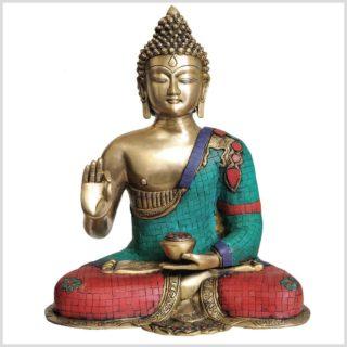 Lehrender Buddha 10,6kg Vorderansicht