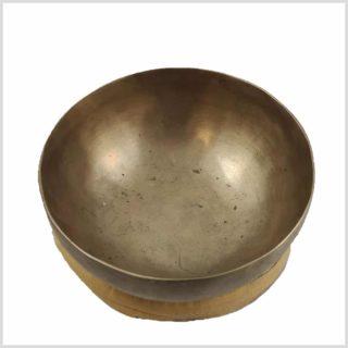 Alte Kopfchakra Klangschale aus Tibet 220g 2
