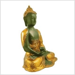 Erleuchtete Buddha Asthamangala 2,8kg mintgrün Seitenansicht rechts