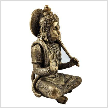 Hanuman Messing 29cm Seitenansicht rechts