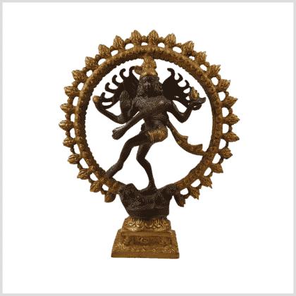 Tanzender Shiva 2,2 Braungold 2,2kg Vorderansicht
