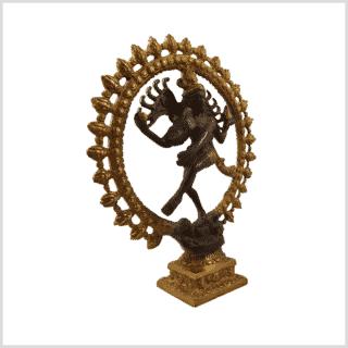 Tanzender Shiva 2,2 Braungold 2,2kg Seitenansicht rechts