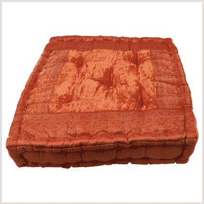 Meditationskissen Yogakissen Orange 40cm