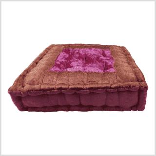 Meditationskissen Yogakissen Pink Seitenansicht