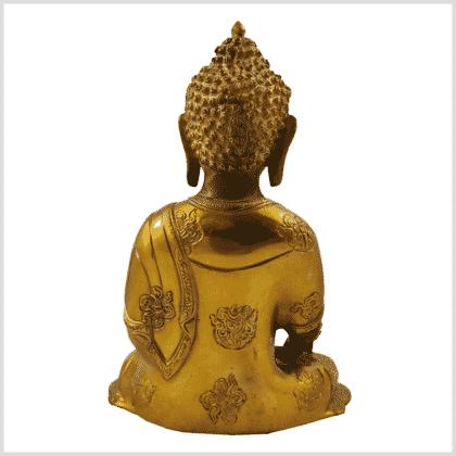 Medizinbuddha Ashtamangala 2,8kg mintgrün Rücken