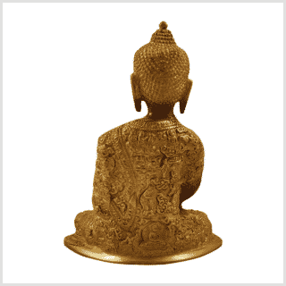 Erdender Buddha Baby Lifebuddha 1,7kg Kaffeebraun hinten