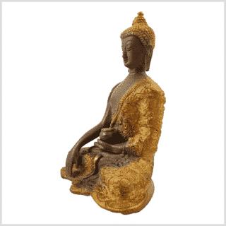 Erdender Buddha Baby Lifebuddha 1,7kg Kaffeebraun Seitenansicht links