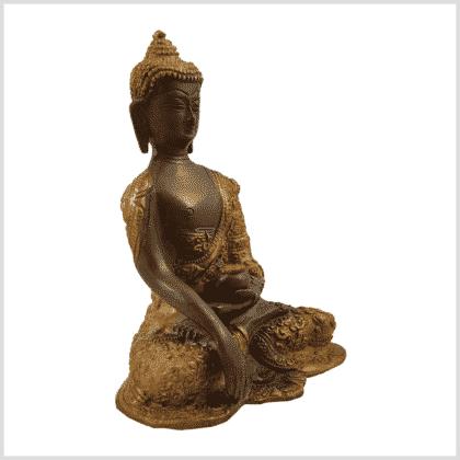 Erdender Buddha Baby Lifebuddha 1,7kg Kaffeebraun Seitenansicht rechts