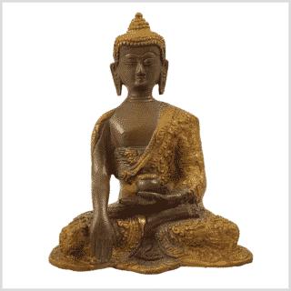 Erdender Buddha Baby Lifebuddha 1,7kg Kaffeebraun Vorderansicht