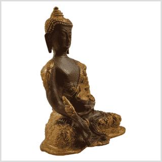 Medizinbuddha 1,7kg Coffeebraun Seitenansicht rechts