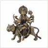 Durga auf Tiger 22cm Tricolore