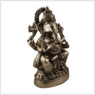 Ganesha 14kg 52cm Messing Seitenansicht rechts