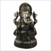 Ganesha 52cm 14kg Messing grüngold Vorderansicht