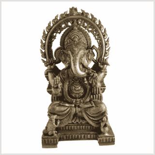 Ganesha 18kg Messing Vorne