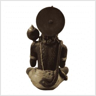 Hanuman 29cn 5kg Messing Kupfer Rücken