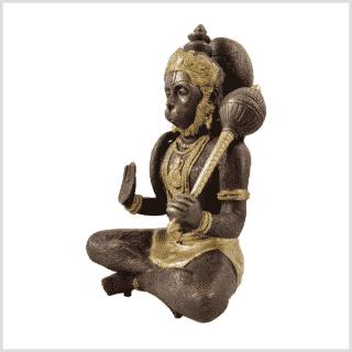 Hanuman 29cn 5kg Messing Kupfer Seitenansicht links