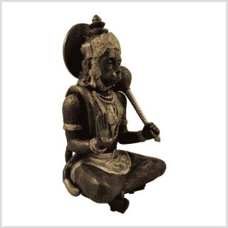 Hanuman 29cn 5kg Messing Kupfer Seitenansicht rechts