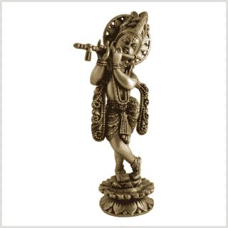 Krishna 30cm 2,2kg Messing Seie rechts