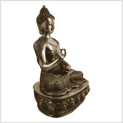 Lehrender Buddha 10,3kg Diamantencut Ashtamangala Seite rechts
