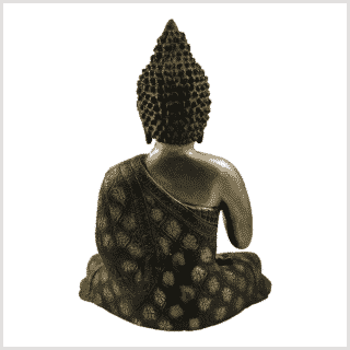 Lehrender Buddha 9,6kg Messing Rücken