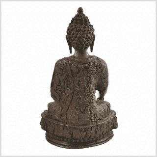 Medizinbuddha 33cm Lifebuddha rotgrün Rücken