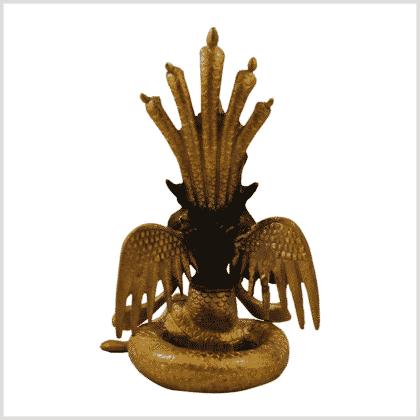 Naga Kanya 3kg 20cm braungold Rücken