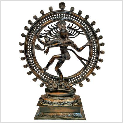 Shiva Nataraja 56cm braungrün