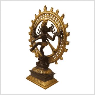 Shiva Nataraja 2,9kg kaffeebraun Seitenansicht links
