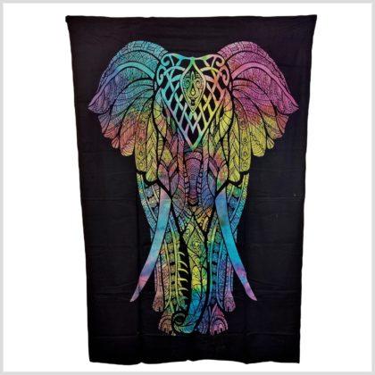 Wandtuch Elefant