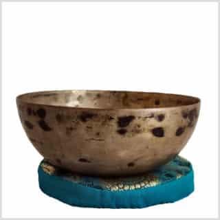Antike Klangschale Halschakra E4 432g