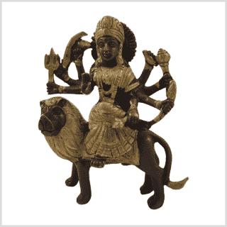 Durga 950g Messing Kupfer Vorderseite
