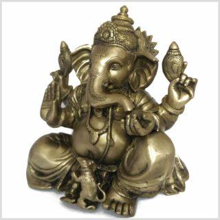 Ganesha 11kg Messing Seite links