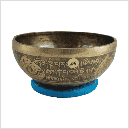 N4 Dorje Mandala Klangschale Seite