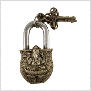 Vorhängeschloss Ganesha Vorderansicht