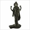 ME-Sarasvati-stehend-schwarzgold-Vorderansicht