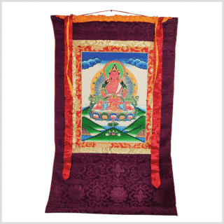 Amitayus Thangka Vollansicht