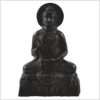 Amoghasiddhi Buddha schwarz 19cm 1kg Front