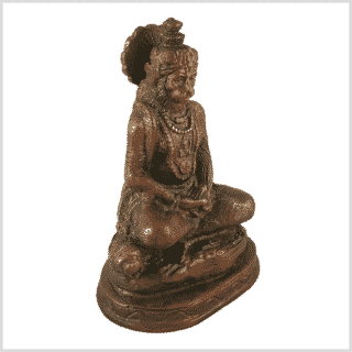 Hanuman klein Messing braungrün Seite rechts