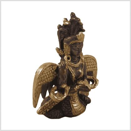 Nag Kanya 7cm Messing Kupfer Seite rechts