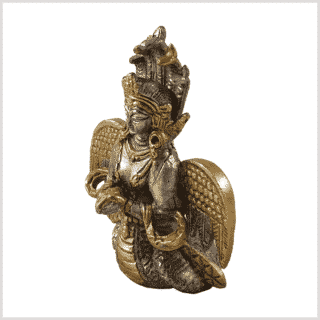 Nag Kanya Messing Silber 7cm Seite links