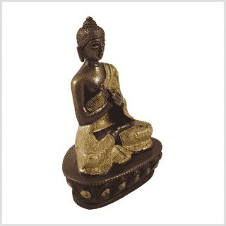 Dharmachakrabuddha Messing Kupfer Seite rechts