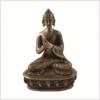 Dharmachakrabuddha Messing Vorderansicht