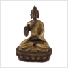Amoghasiddhi Segnender Buddha Messing Kupfer 14cm